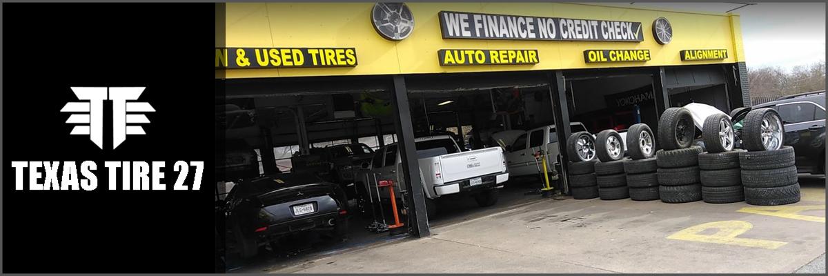 Texas Tires 27 is a Tire Shop in San Antonio, TX