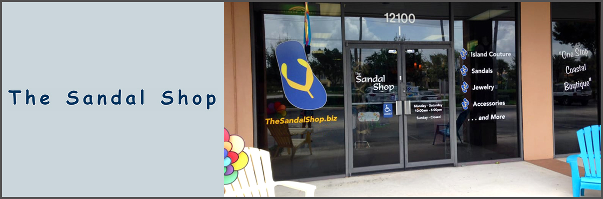 The Sandal Shop is a Women's Boutique in North Palm Beach, FL