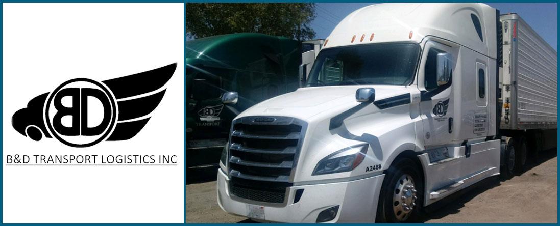 B & D Transport Logistics, Inc offers Transport Service in Ventura, CA