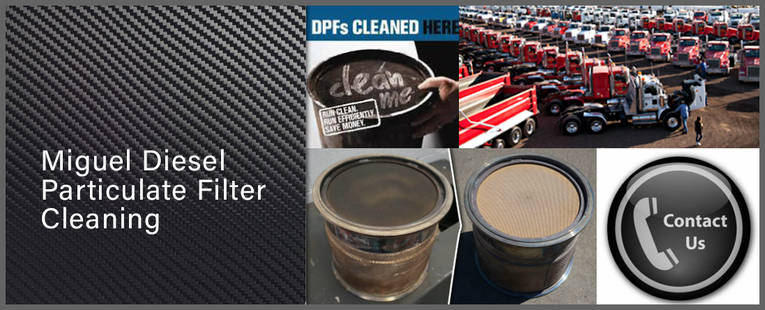 Miguel's Diesel Particulate Filter Cleaning Does Diesel Services in Huntington Park, CA
