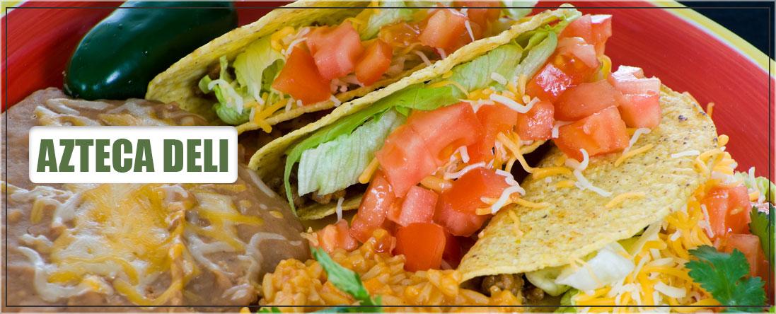 Azteca Deli Sells Mexican Food in Brooklyn, NY