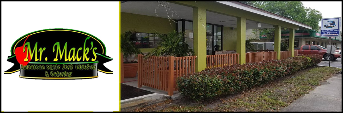 Mr Mack Island Grill is a Caribbean Restaurant in West Palm Beach, FL