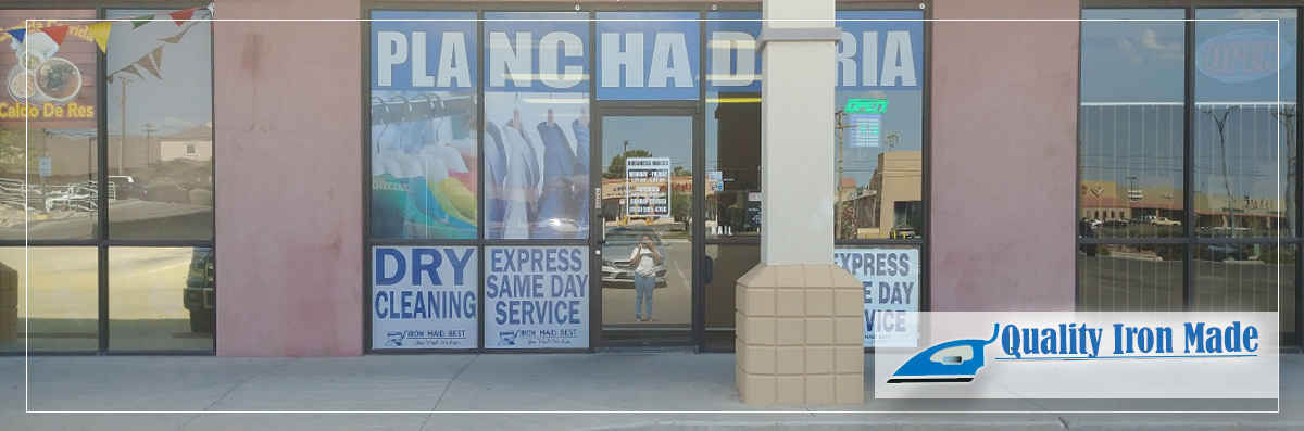 Quality Iron Made Does Dry Cleaning in El Paso, TX