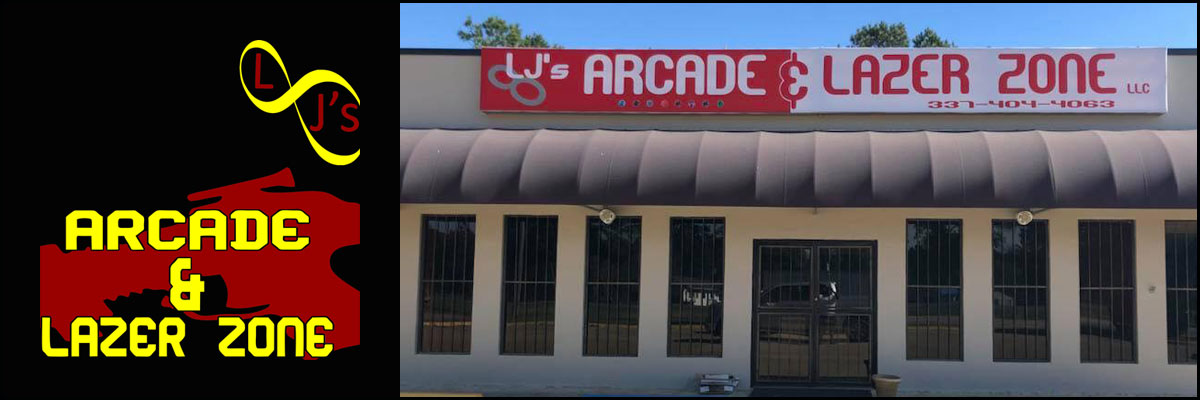 LJ's Arcade & Lazer Zone is an Arcade and Laser Tag Venue in Leesville,LJ's Arcade & Lazer Zone